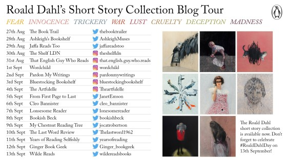 Roald Dahl Blog Tour Card